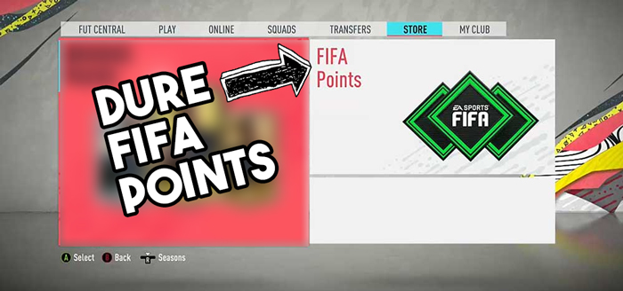 dure fifa points